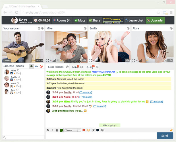 Top video chat sites