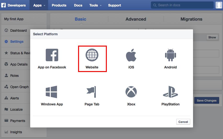 Facebook App ID